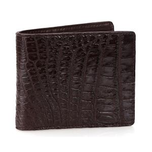 Мужской бумажник из кожи крокодила